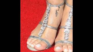 Rihanna Feet & Legs (Close-Up)