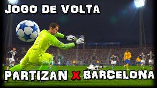 PES 16 - Luis Suárez FENÔMENO - UEFA CHAMPIONS LEAGUE #4 PARTIZAN VS BARCELONA - JOGO DE VOLTA