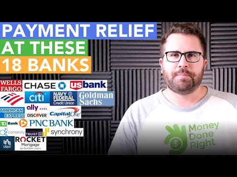Payment Relief: What 18 Banks Are Doing Right Now
