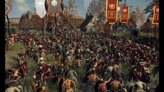 Rome 2 total war Hardcore прохождение =9= Первый контакт