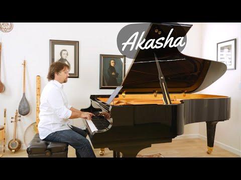 Akasha - Soft Contemporary Classical Solo Piano Music - David Hicken - Angels