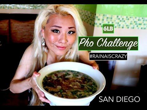 6lb Pho Challenge   Top 10 Oriental   SanDiego   RainaisCrazy