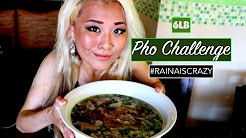 6lb Pho Challenge | Top 10 Oriental | SanDiego | RainaisCrazy