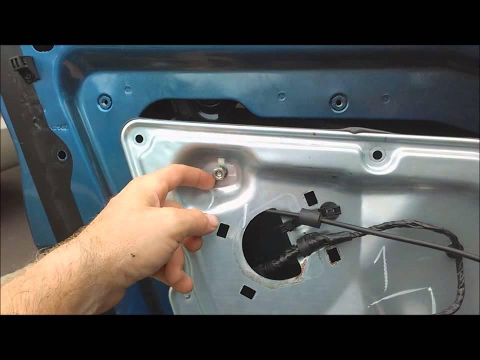 2010 Ford Fusion Power Window Regulator Repair  YouTube