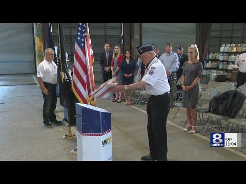 Irondequoit holds flag day ceremony