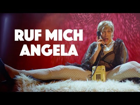 Klemen Slakonja as Angela Merkel - Ruf mich Angela /#TheMockingbirdMan/