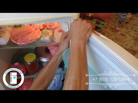 Меняем уплотнитель двери холодильника Snaige