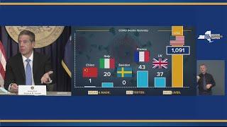 Gov. Cuomo holds briefing in New York City (Full video) — September 24, 2020
