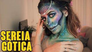 Especial Halloween - MAQUIAGEM SEREIA GÓTICA/MERMAID MAKEUP