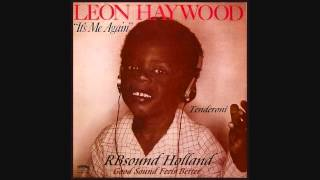 Leon Haywood - Tenderoni (1984) HQsound
