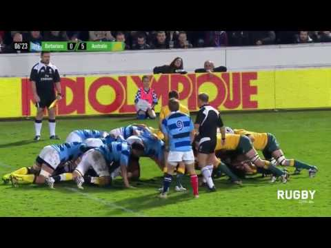 Rugby union 2016 French Barbarians vs Australia  Autumn international