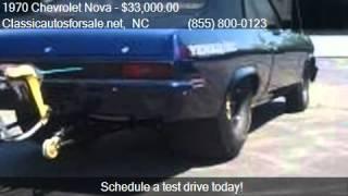 1970 Chevrolet Nova  - for sale in , NC 27603 #VNclassics