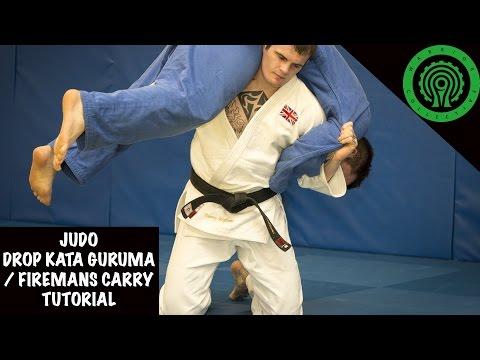 Judo Drop Kata Guruma/Fireman's Carry Throw Tutorial