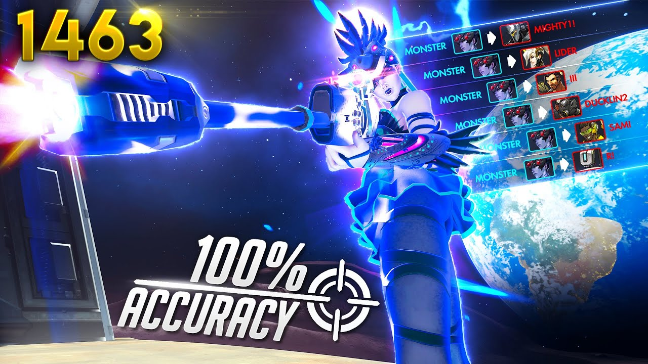100% Accuracy Widow GOD?! | Overwatch Daily Moments Ep.1463 (Funny and Random Moments)
