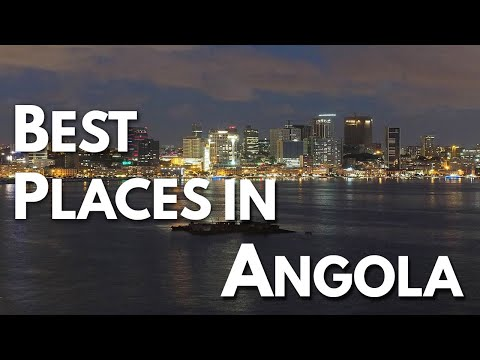 10 Best Travel Destinations in Angola
