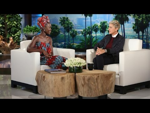 Ellen and Lupita Nyong'o Get Their SexyFace On