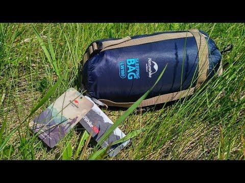 Компактный и сверхлегкий спальный мешок Naturehike LW180