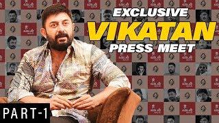 Arvind Swamy Vikatan Press Meet