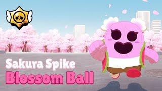 Brawl Stars: Sakura Spike Blossom Ball