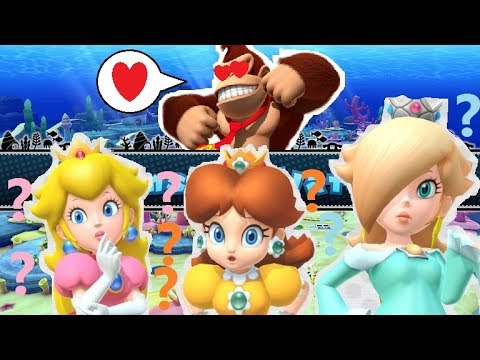 UNDERWATER LOVE BOAT!? - Mario Party 10; (as Donkey Kong) Episode 40