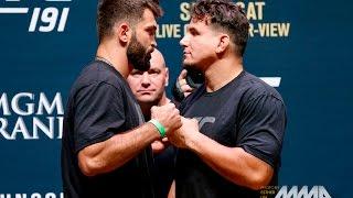 UFC 191 Weigh-Ins: Andrei Arlovski vs. Frank Mir