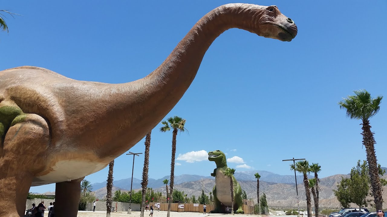 Inside The Cabazon Dinosaurs