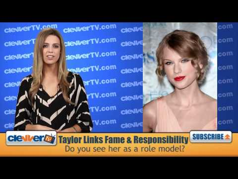 Taylor Swift Says Fame Is A Responsibility