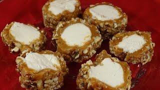Caramel Pecan Log Candy (no bake)