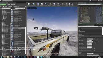 Squad SDK Tutorial - Setting up a Turret Weapon's Aimoffsets