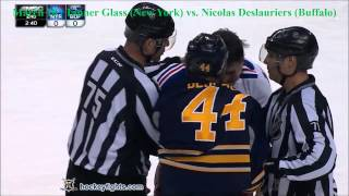 Top Ten NHL Hockey Fights of March 2015