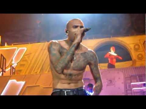 Biggest Fan [HD] - Chris Brown Carpe Diem 2012 Tour - Stockholm, Sweden - Nov 19