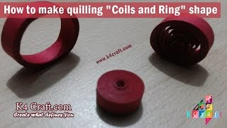 Learn How to make Quilling