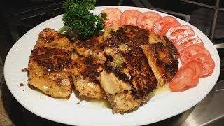 How To Pan Frying Salmon Fish | Punjabi Style Recipe