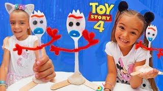 Como se hace a forky de toy story 4 las ratitas