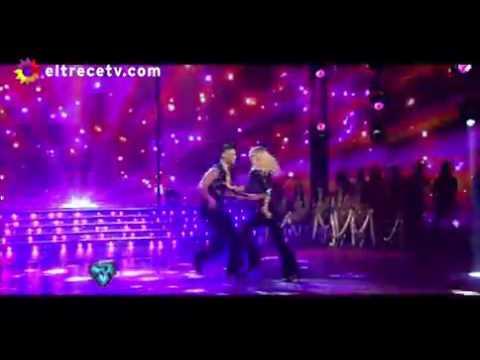 Sabrina Rojas deslumbró en el Bailando