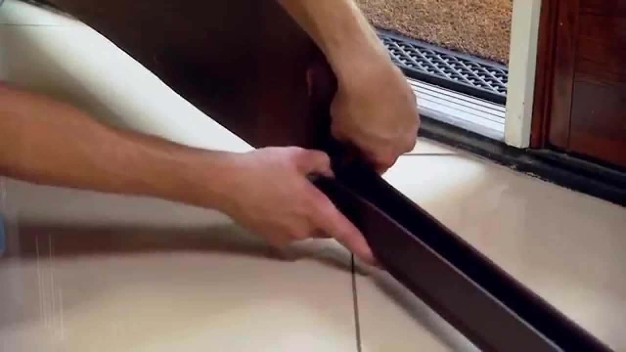 Seal The Gap On The Bottom On Entry Door Youtube