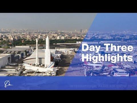 Paris Air Show: Day Three Highlights
