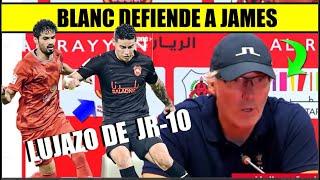 JAMES Rodriguez 🔴 DT ALRAYYAN LO DEFIENDE y GRAN LUJAZO  EN SU DEBUT