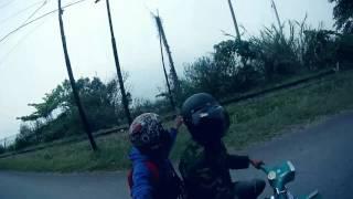 road to KBSS padang panjang 2015 vespa