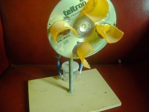 Como hacer molino e lico casero home wind generator motor - Como se limpia una casa ...