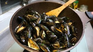3 mins French Blue Mussels 法國藍青口