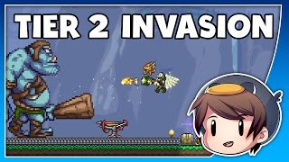 EXPERT TIER 2 INVASION // OLD ONE'S ARMY // Terraria 1.3.4
