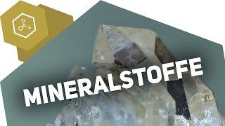 Mineralstoffe - Wofür brauchen wir sie?