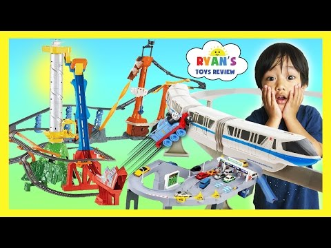 BIGGEST TOY TRAINS TRACK FOR KIDS Thomas &...