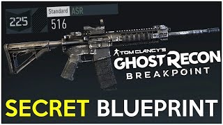 How to Get the SECRET 516 Assault Rifle Blueprint! - Ghost Recon Breakpoint Tips
