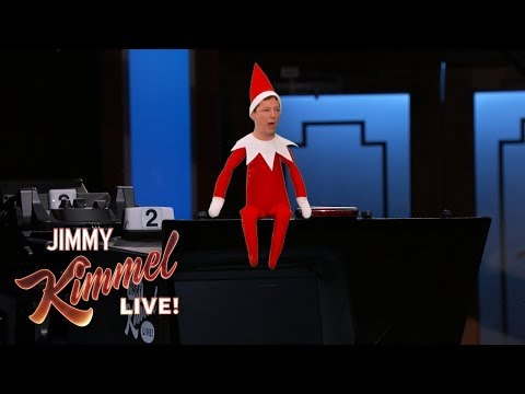 The Elf on the Shelf Confronts Jimmy Kimmel