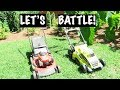 BATTLE OF THE MOWERS 2017‼️ELECTRIC OR GAS⁉️ WATCH THIS VIDEO FIRST💲