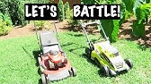 GreenWorks Twin Force Mower Review - Part 2 - Sound