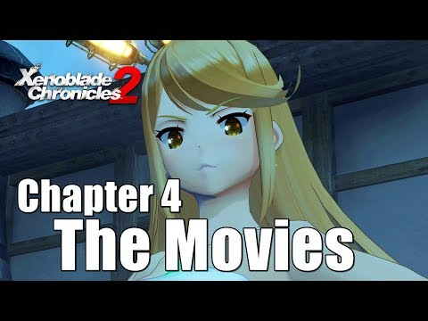 Xenoblade Chronicles 2 All Cutscenes Main Story - Chapter 4 Aegis