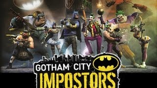 CGRundertow GOTHAM CITY IMPOSTORS for PlayStation 3 Video Game Review